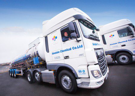Airedale Chemical - Graham Bird with new distribution fleet