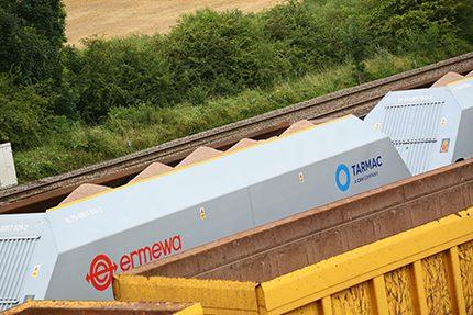 New innovations boost Tarmac rail freight capabilities