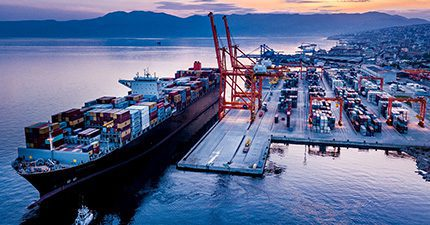 Adriatic Gate Container Terminal at the Port of Rijeka