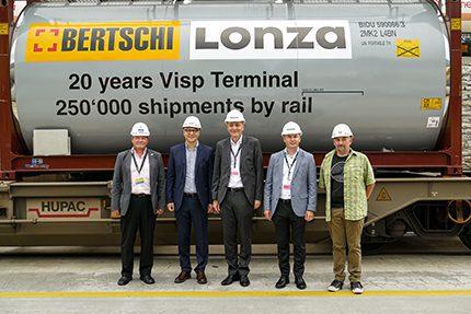 Lonza and Bertschi celebration
