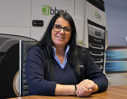 Sarah Snelson of Abbey Logistics
