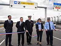 The corridor was instated in the presence of Emmanuelle Verger, Stéphane Raison, Gilbert Beltran, Jean-Claude Charlo and Nike Drinckal
