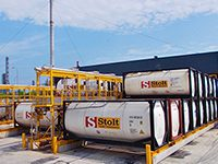 Stolt Tank Container Terminal in Singapore
