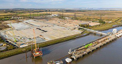 Tarmac and Tilbury Port2 partnership