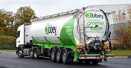 Abbey Logistics powder tanker
