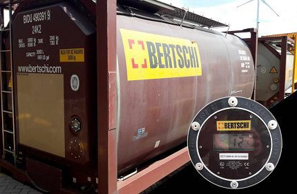Bertschi's isocyanate container fleet is to be equipped with Nexxiot telematics boxes for tracking