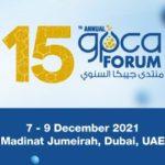 GPCA 15th Annual Forum 2021 in Dubai