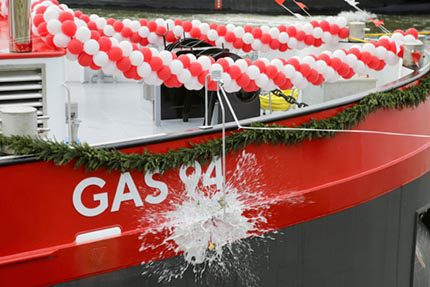 HGK Shipping and BASF gas tanker