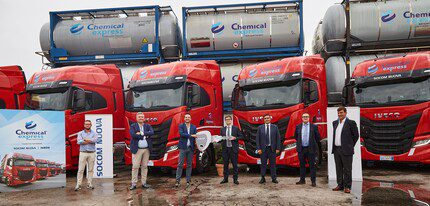 IVECO has delivered 15 IVECO S-WAYs to Chemical Express Srl